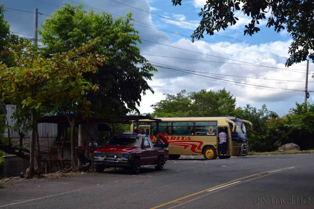 Las Chinamas to Ahuachapan Border Bus