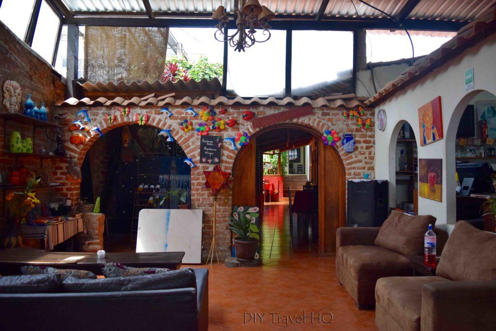 Lounge Los Portones de Ataco