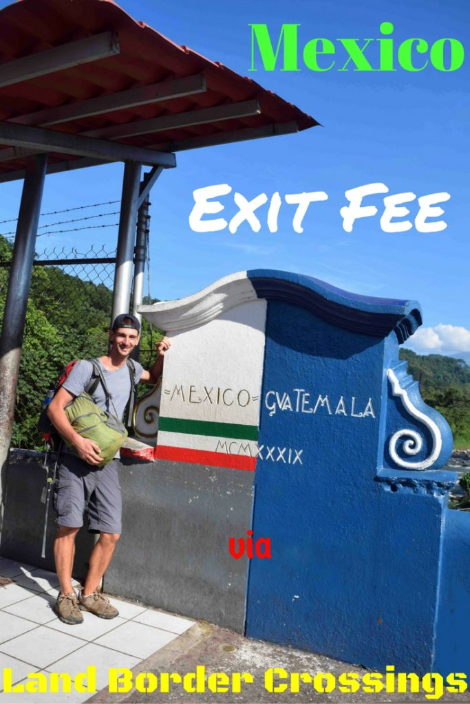 Mexico does in fact have a 390 peso exit fee if you stay over 7 days in the country. Find out if you already paid it, how to pay it if you didn't, and how to avoid paying it again. Many people WRONGLY think the exit fee is a scam by corrupt Mexican land border officials. It is usually contained in your Mexican flight's taxes and surcharges, which is why most people are unaware of the tourist fee. The only time it really surfaces is when you try to leave via a land border crossing.