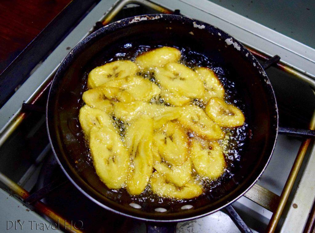 Bananas Mole de Platanos