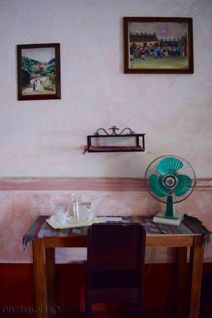 Posada Belen Museo Inn Desk