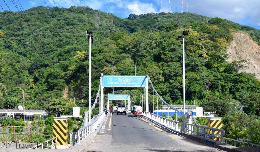 Valle Nuevo Guatemala to Las Chinamas El Salvador Border Crossing