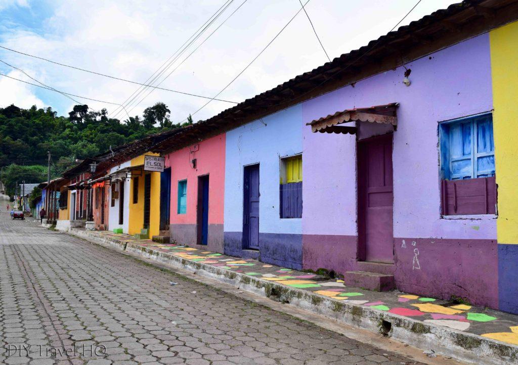 Taco streets El Salvador