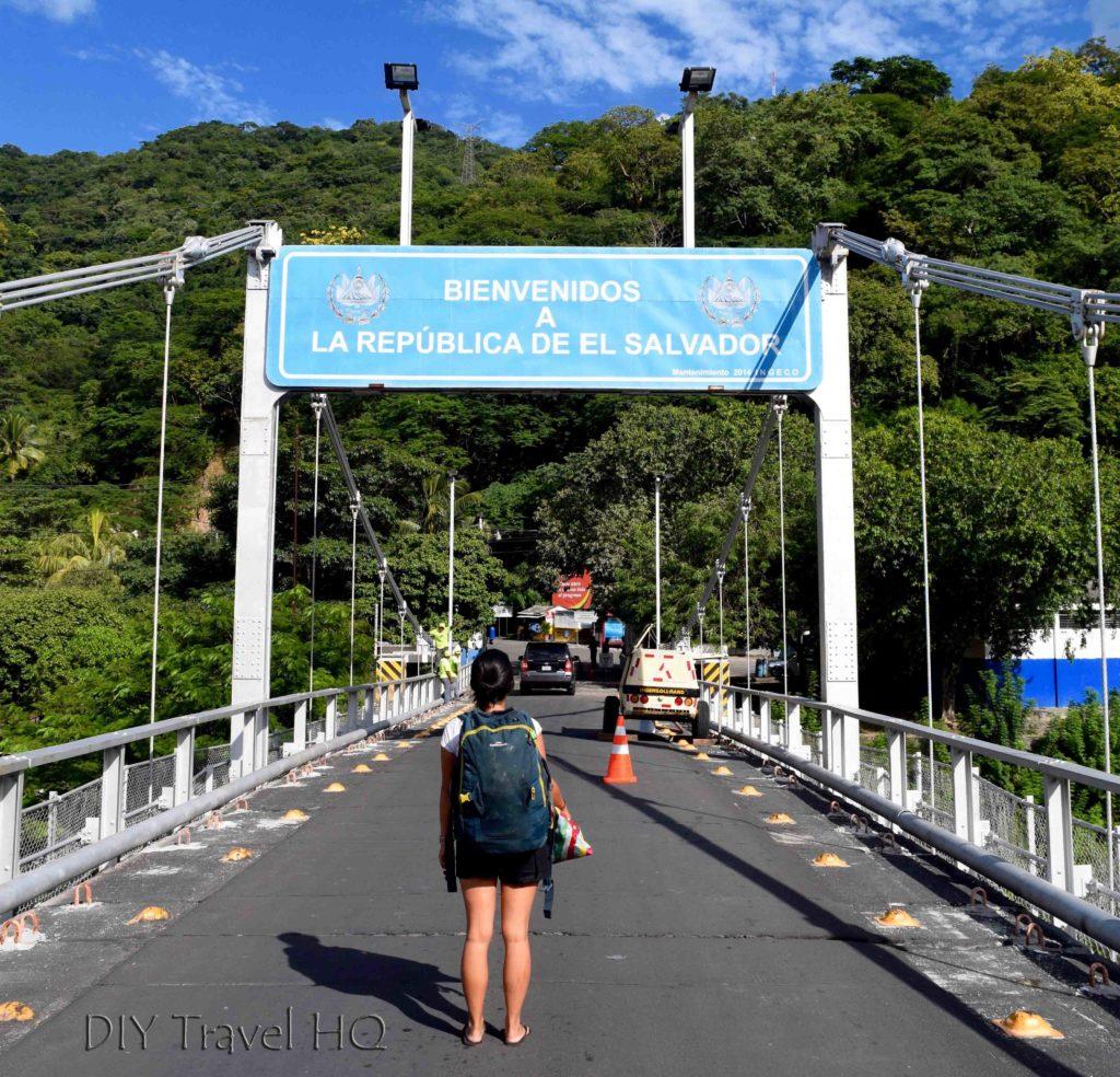 El Salvador Guatemala border crossing