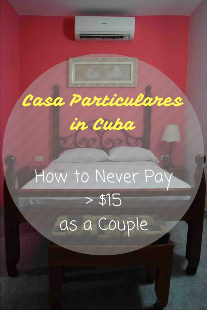 Casa particulares are the best-value accommodation in the world – find out how you can find an air-conditioned room anywhere in Cuba for CUC$15. There are hotels but they're almost all government-run & notoriously bad value for money. By staying at casa particulares, you can support the local economy. In this ultimate budget guide, we share everything we know, including how to find a casa, how to negotiate the best rate & more.