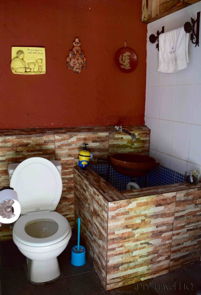 Bathroom at Casa de la Abuela