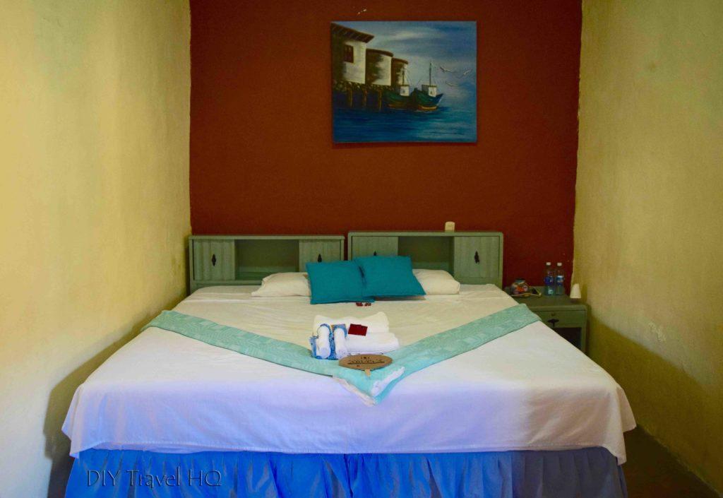 King size bed Casa de la Abuela