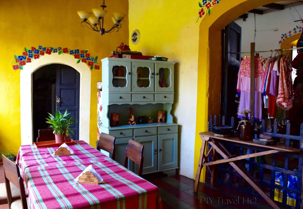 Character & style at Casa de la Abuela