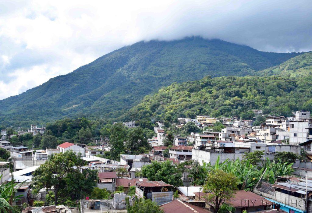 Cloudy Volcan San Pedro