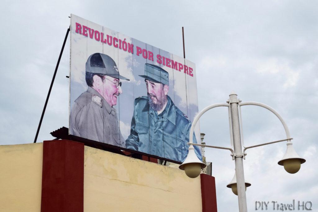 Ciego de Avila Propaganda Sign