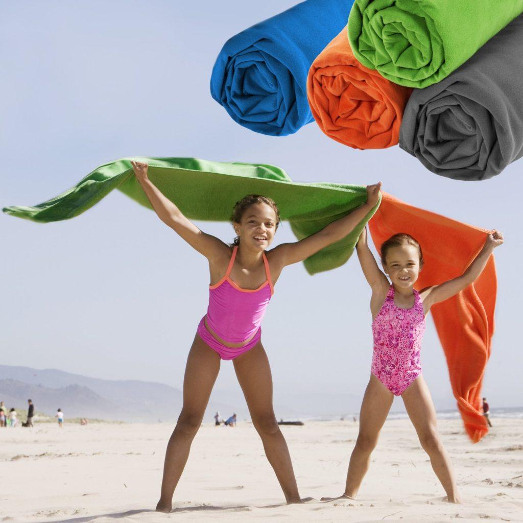 ECOdept Large Microfiber Travel Towel Wrap Around