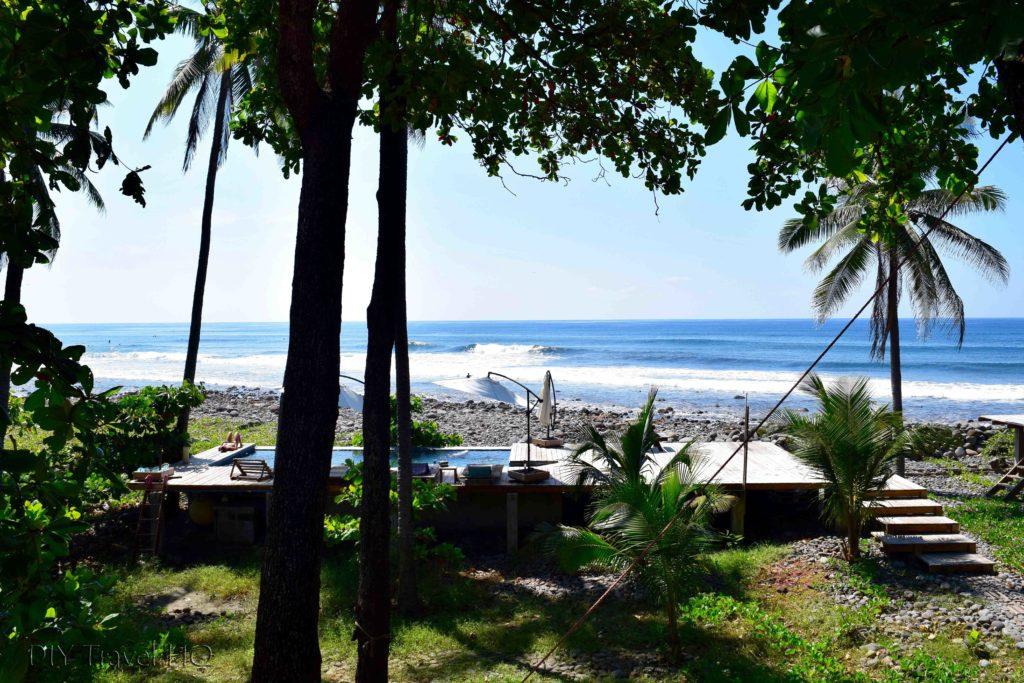El Sunzal beach Hostal Los Almendros