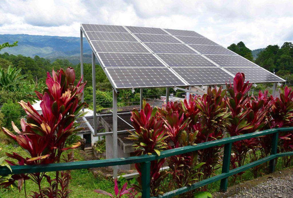 Solar Panels at Hotel Perkin Lenca