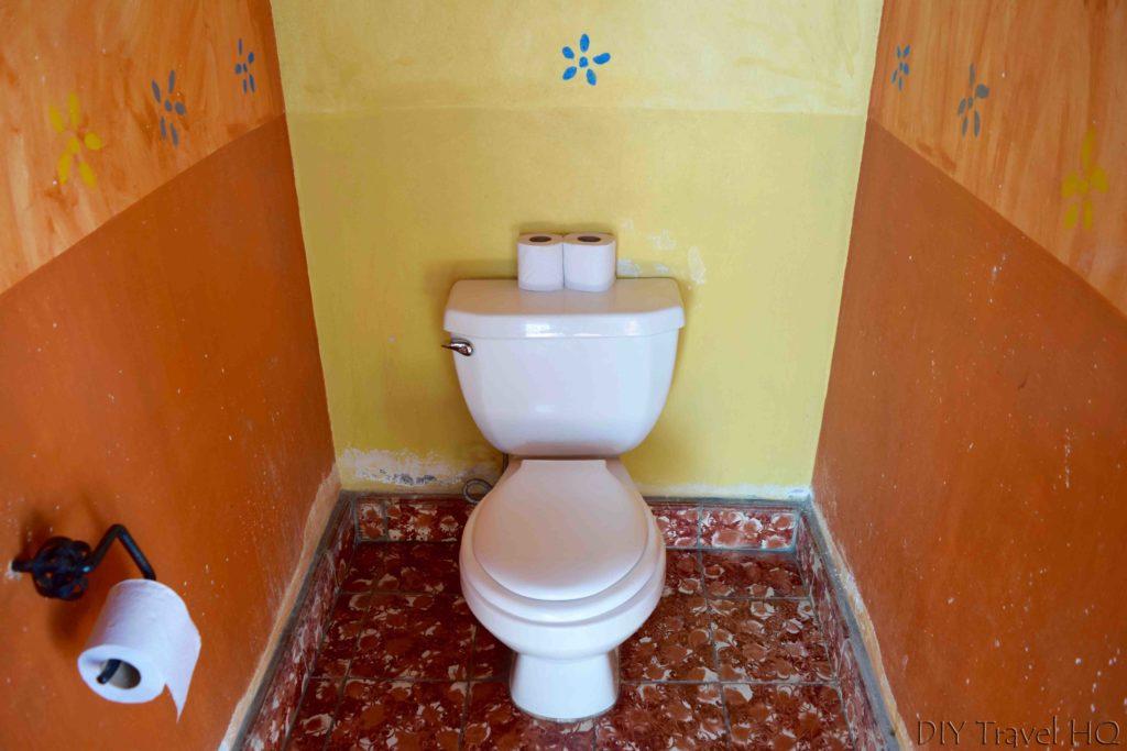 Iguana Azul Bathrooms in Copan Ruinas