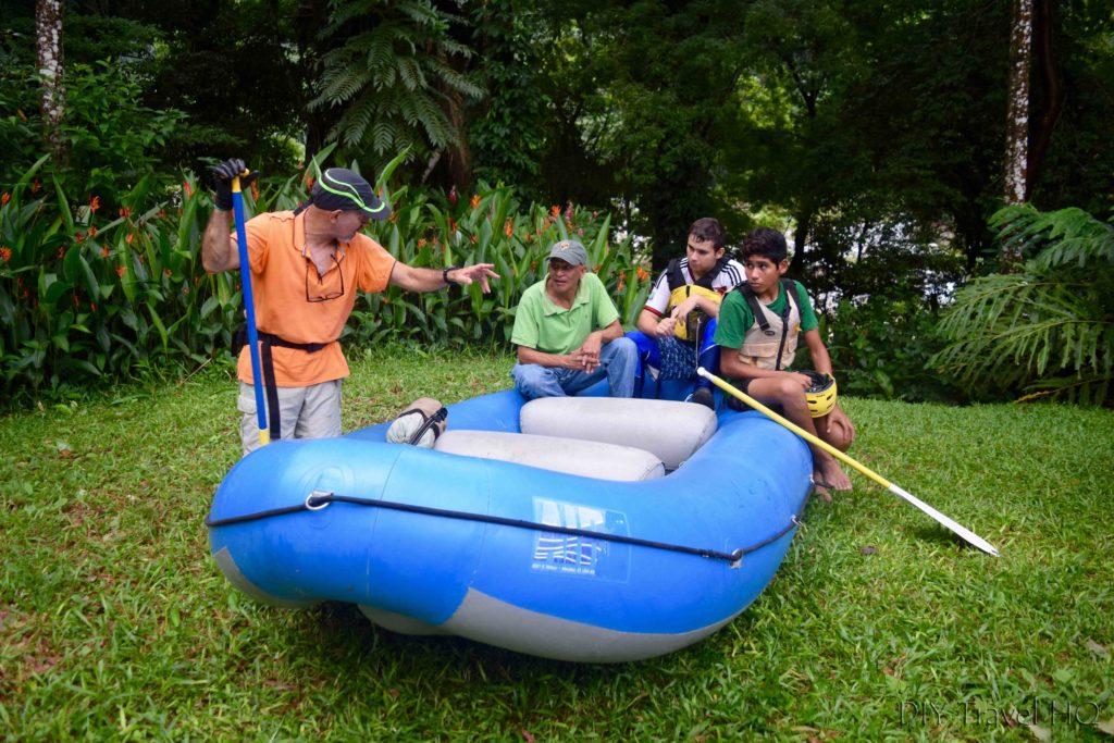 La Moskitia Ecoaventuras Rowing Instructions