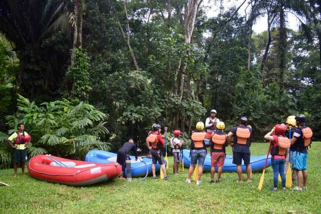 La Moskitia Ecoaventuras White Water Rafting Instructions