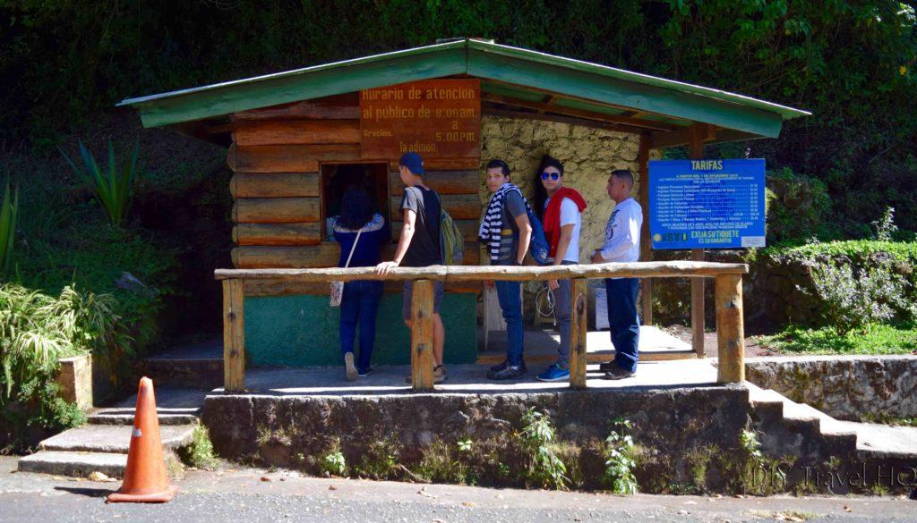 Parque Nacional Los Volcanes Cerro Verde Entrance Fee Office