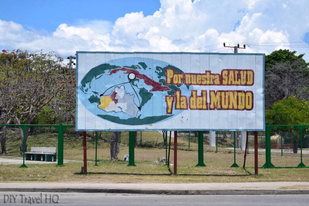Cienfuegos Propaganda Sign
