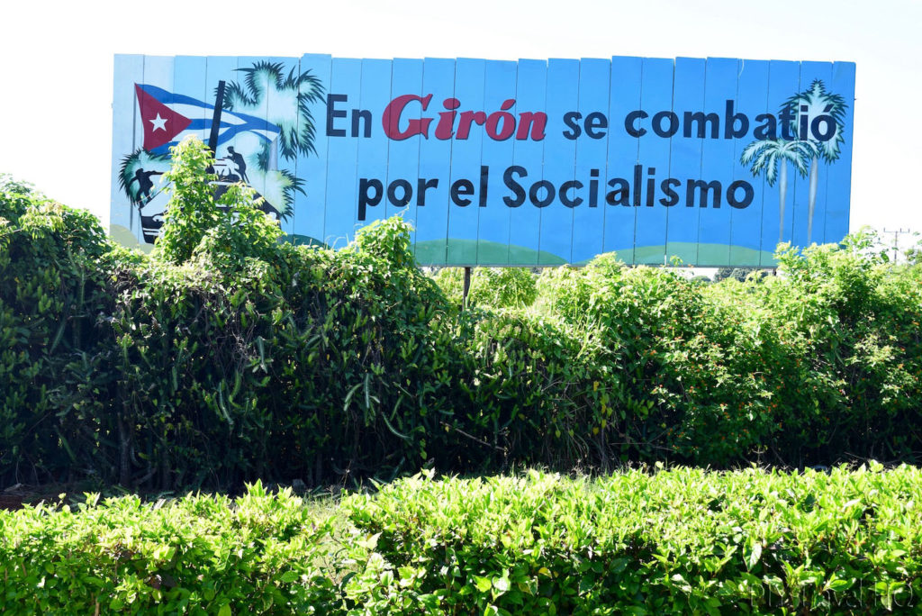 Giron Propaganda Sign