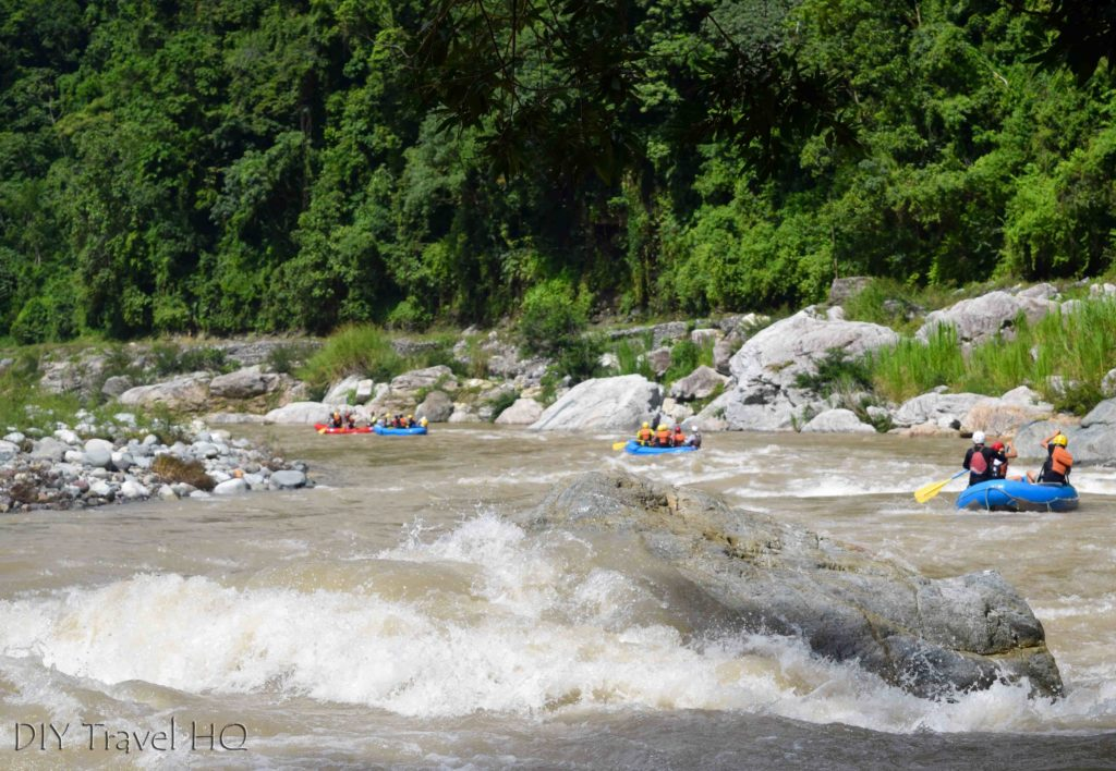 Rio Cangrejal White Water Rafting Groups