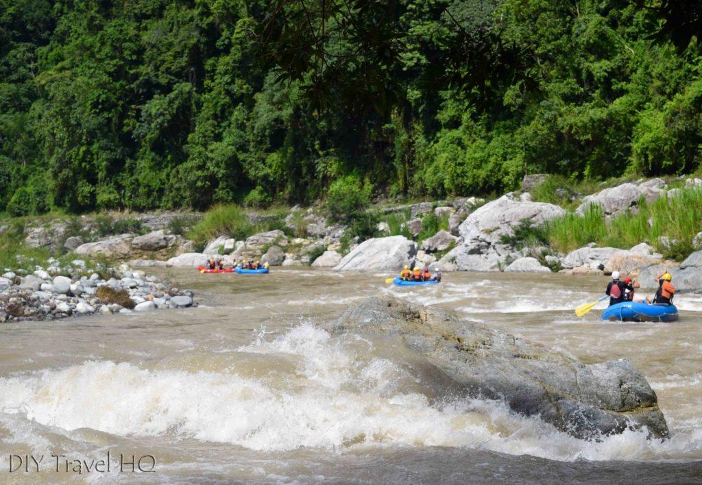 Rio Cangrejal White Water Rafting Groups