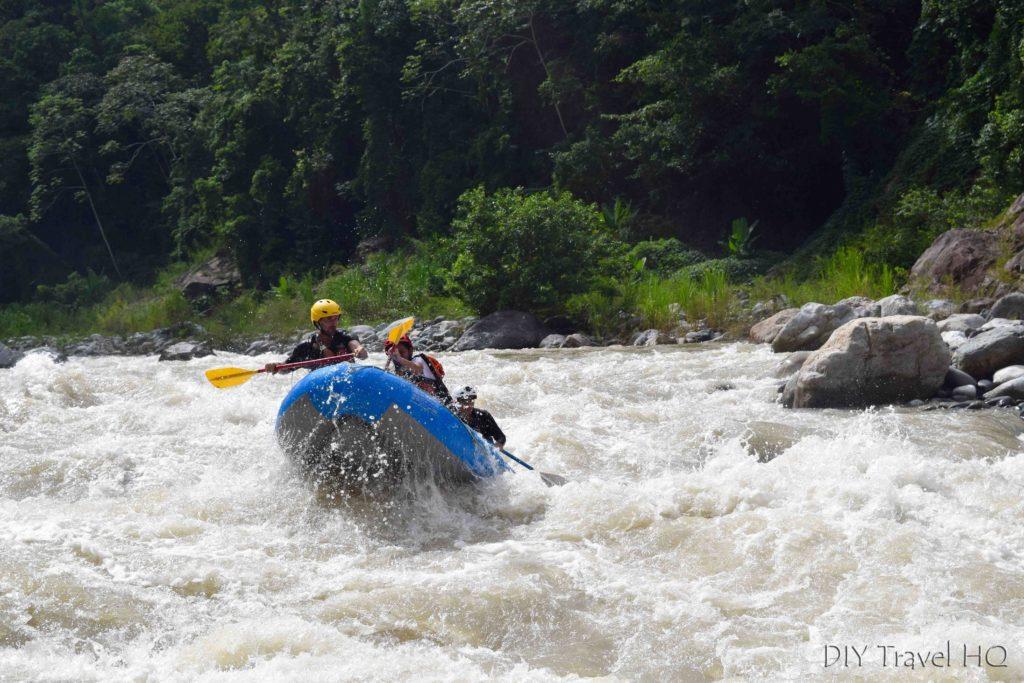 Rio Cangrejal White Water Rafting with La Moskitia Ecoaventuras
