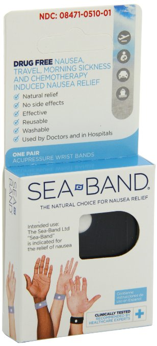 SEA-Band Anti-Motion Sickness Wristbands