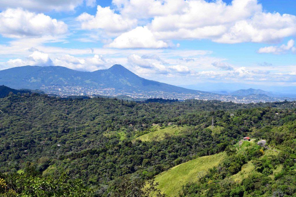 San Salvador View from Puerta del Diablo