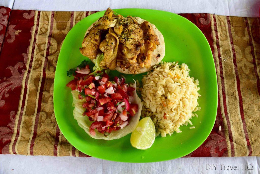 Santa Ana Comedor Meal
