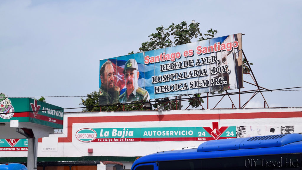 Political Sign Cuba