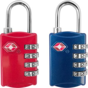 TSA 4 Digit Luggage Locks