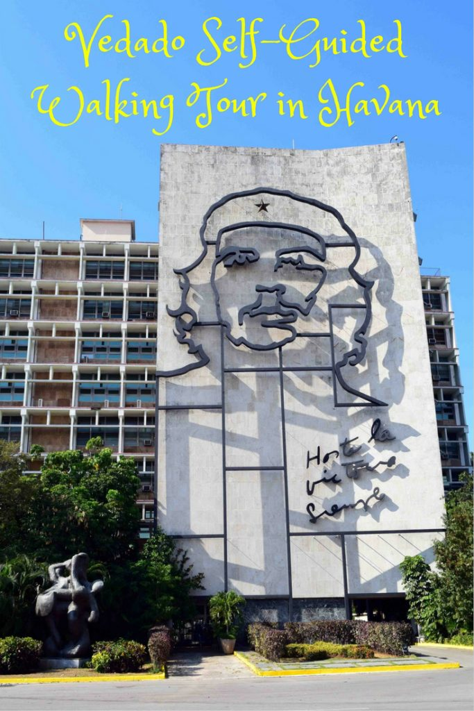 Vedado is the inner-city suburb of Havana filled with tons of history. Find out what attractions await on DIY Travel HQ's self-guided walking tour. Attractions include Plaza de la Revolucion, Che Guevara and Camilo Cienfuegos Murals, Teatro Nacional de Cuba, Memorial a Jose Marti, Necropolis Cristobal Colon, Museo Napoleonico, Universidad de la Habana, Hotel Habana Libre, Coppelia Ice Cream, Hotel Nacional, Avenue de los Presidentes, Fabrica de Arte Cubano, where to eat & more.