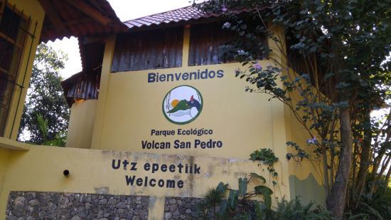 Volcan San Pedro Entrance