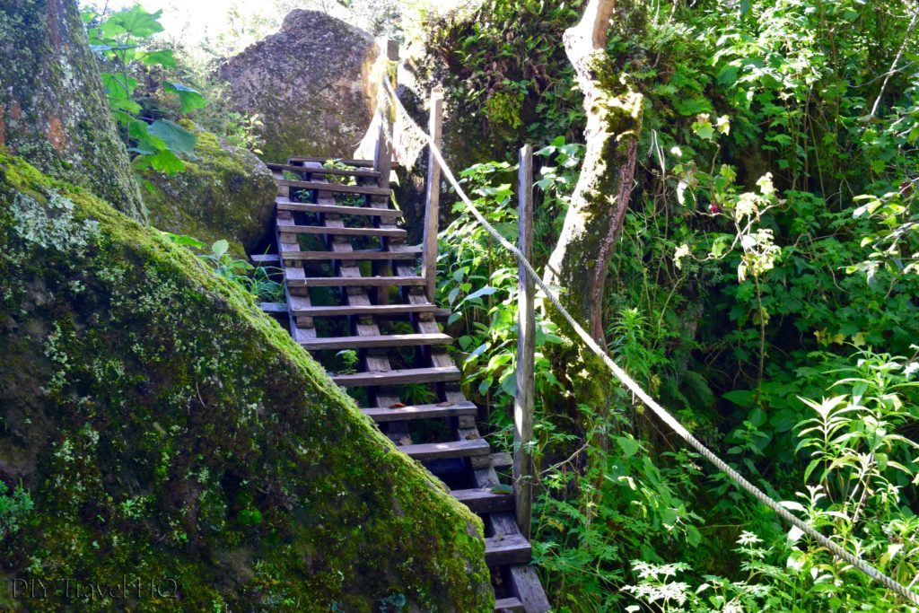 Volcan San Pedro Ladder to Reach the Peak Mirador