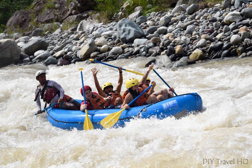 White Water Rafting in Honduras with La Moskitia Ecoaventuras