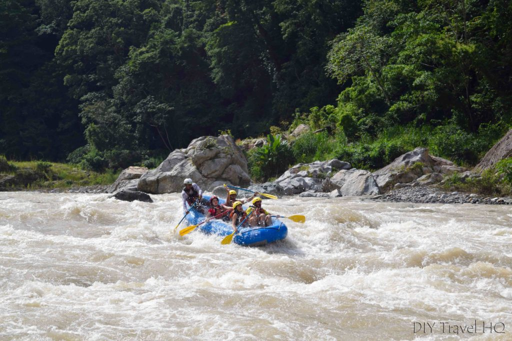 White Water Rafting on Rio Cangrejal