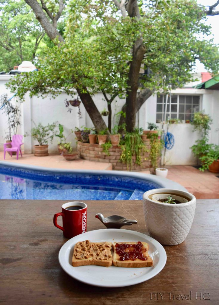 Breakfast included at Casa 37 Hostal