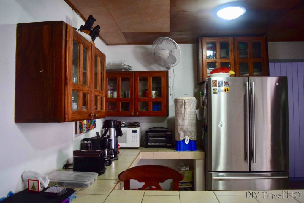 Shared kitchen Casa 37 Hostal