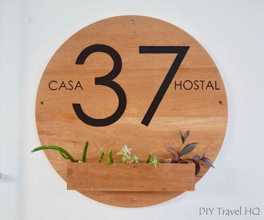 Casa 37 Hostal Logo