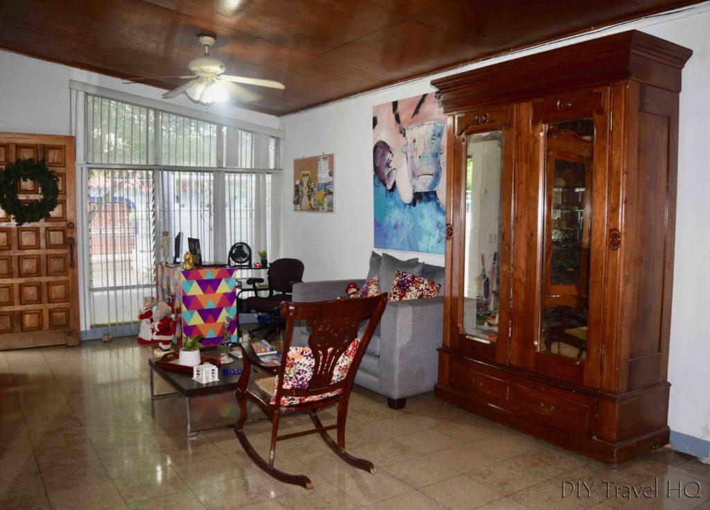 Check-in Casa 37 hostel