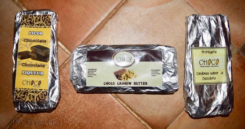 Chocolate Bars from Choco Museo Chocolate Workshop