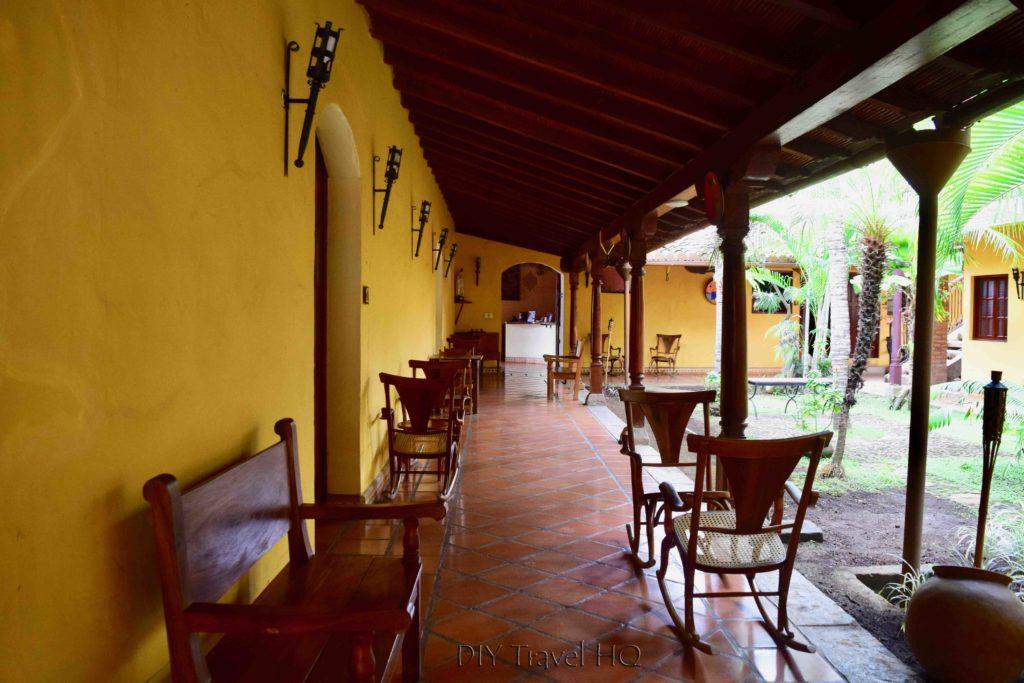 Hotel La Pergola garden
