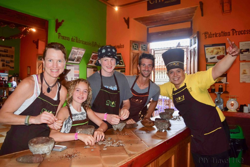 Group Chocolate Workshop at Choco Museo Photo