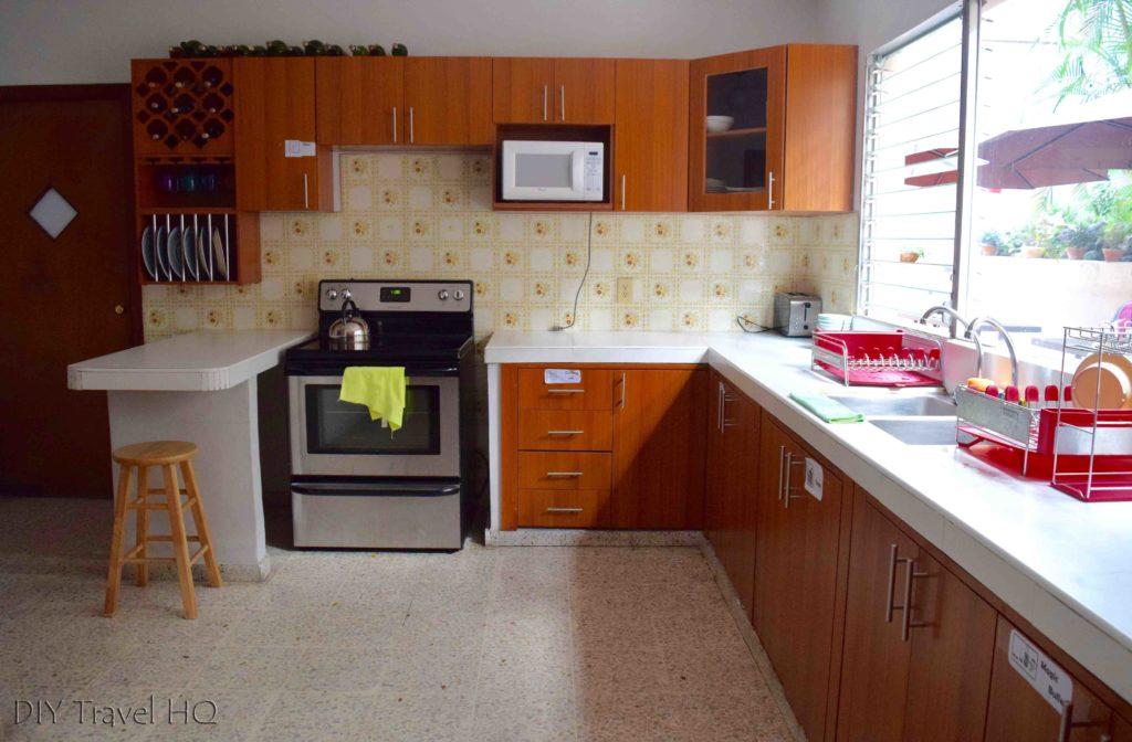 Kitchen Palmira Hostel