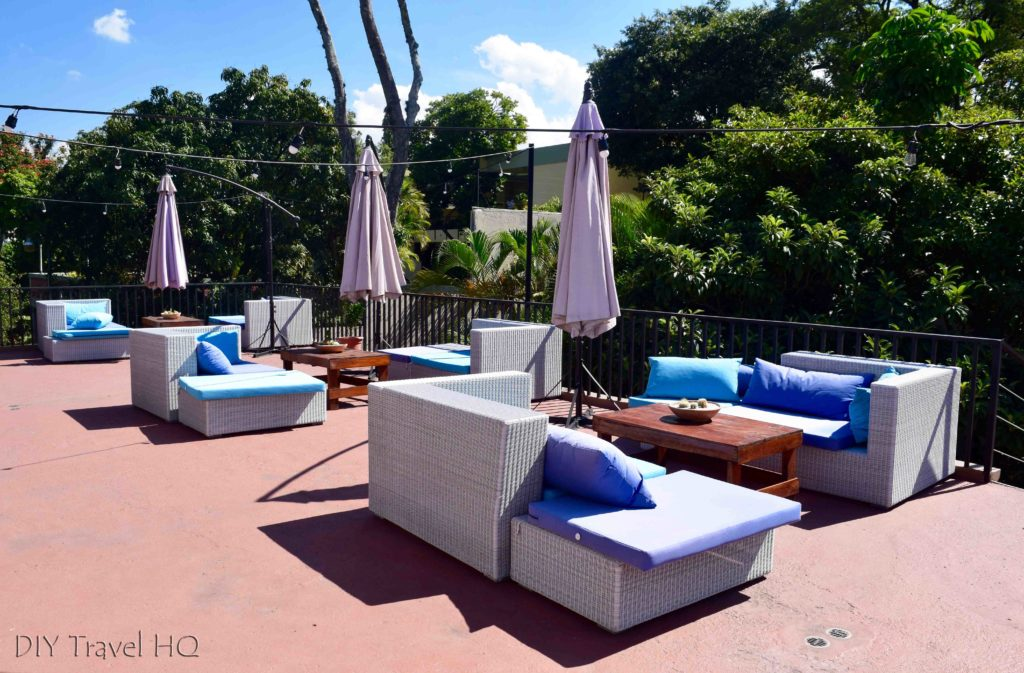 Rooftop terrace Palmira Hostel