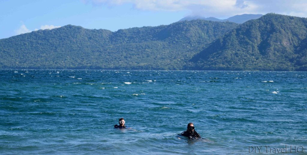 The Peace Project Volcano Divers in Laguna de Apoyo