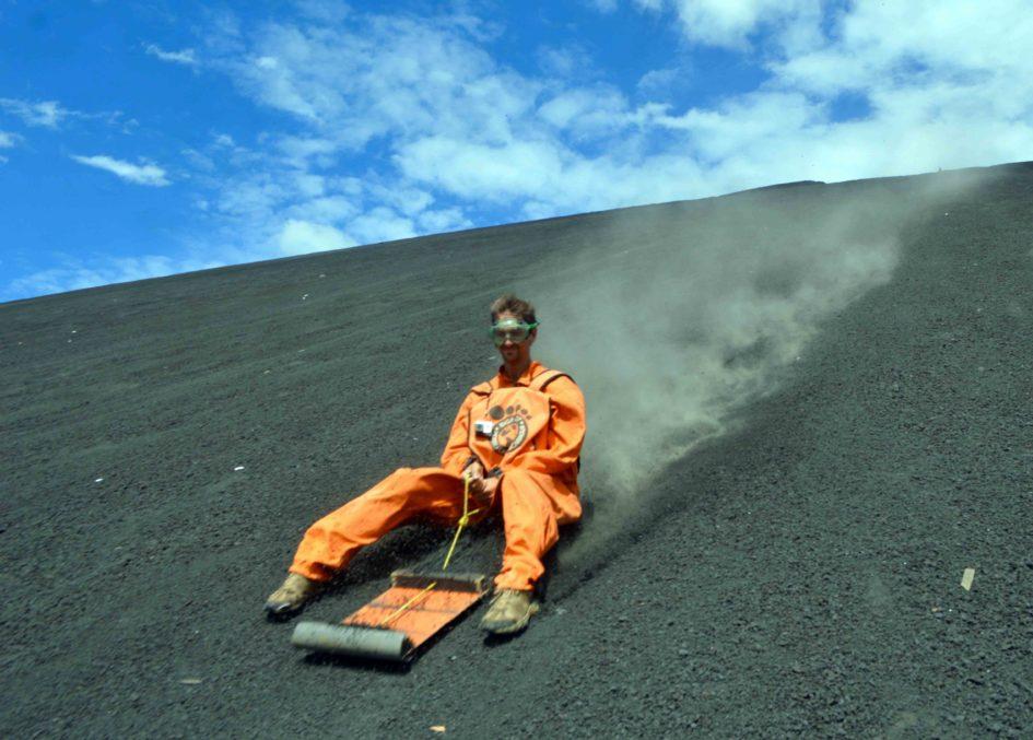 Volcano Boarding Cerro Negro with Bigfoot Hostel
