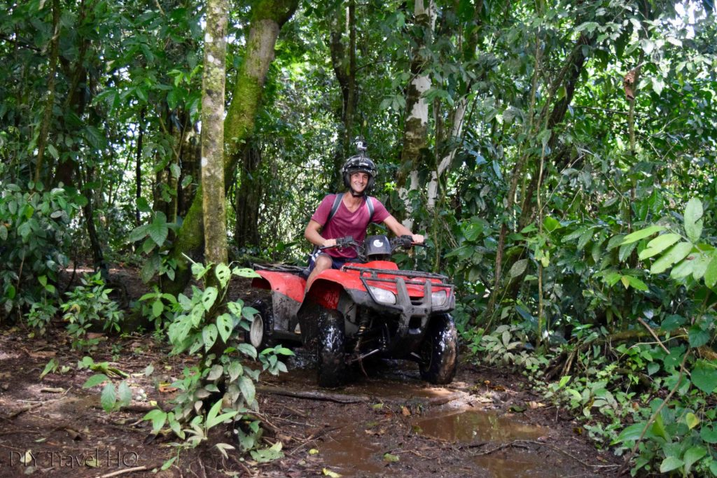 ATV tour in La Fortuna