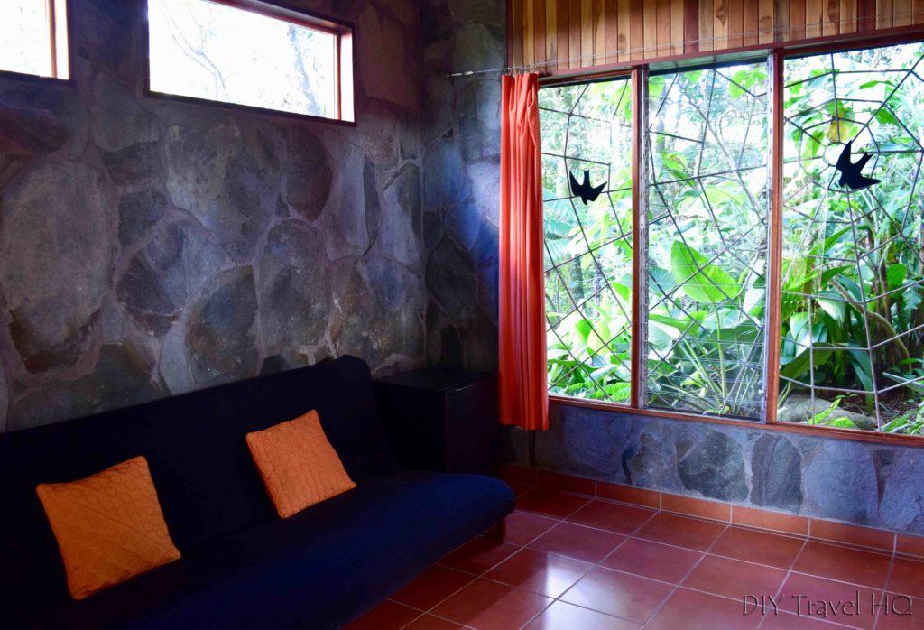 Living room at Arco Iris