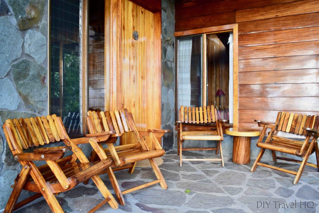 Patio Arco Iris Lodge